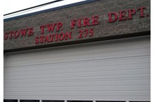 Dimensional Lettering - Fire Department
