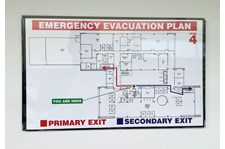 Directory Wayfinding - Emergency Route