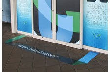Floor Graphics - Professional Services