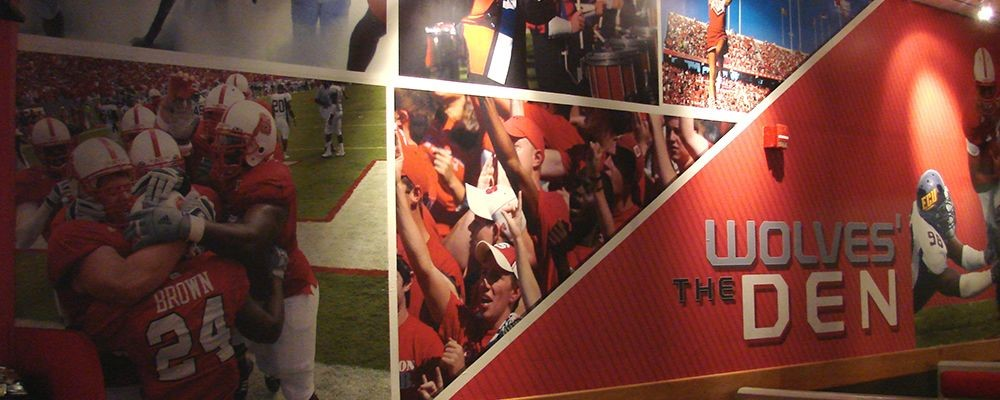 Image360-Raleigh-RTP-NC-Wall-Graphics-Education-Entertainment-Wolves-Den