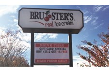 Changeable letter sign for Bruster