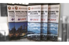 Retractable Banners for Hartsfield Jackson Int