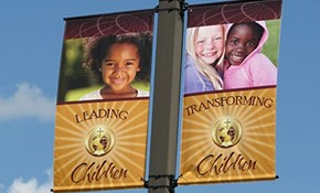 Boulevard & Street Pole Banners