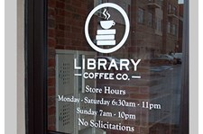 - Image360-Tucker-GA-window-graphics-restaurant-Library Coffee Co