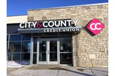 Lit Channel letters for City and County Credit Union in Woodbury, MN_1