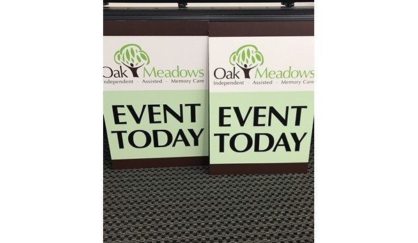 Corporate Event Signs