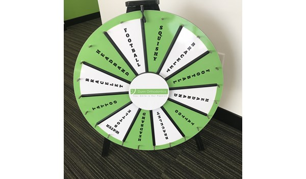 Game Wheel Corporate Event Signs