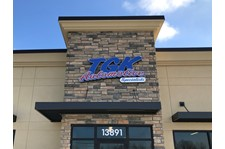 Exterior Illuminated Dimensional Building Sign for Automotive Services in Hugo, MN