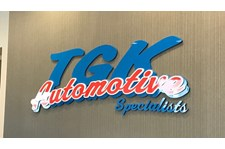 Reception Area Dimensional Letters Sign for Automotive Services in Hugo, MN