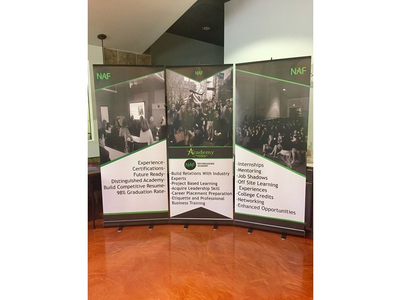 Retractable Banners Pop Up Banners And Stands Image360 North