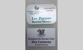 Badges & Name Plates