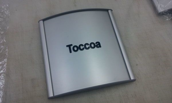 Taccoa directory and way-finding signage