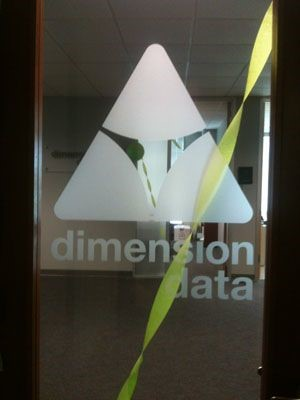 Dimension data window graphic in Alpharetta, GA