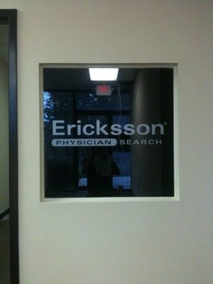 Erickson window graphic in Alpharetta, GA