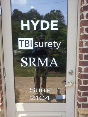 SRMA window graphic in Alpharetta, GA