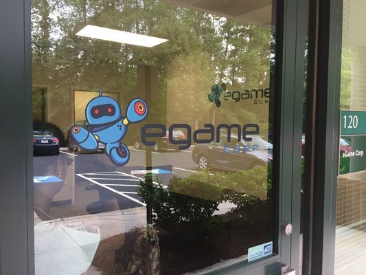 Egame window graphic in Alpharetta, GA