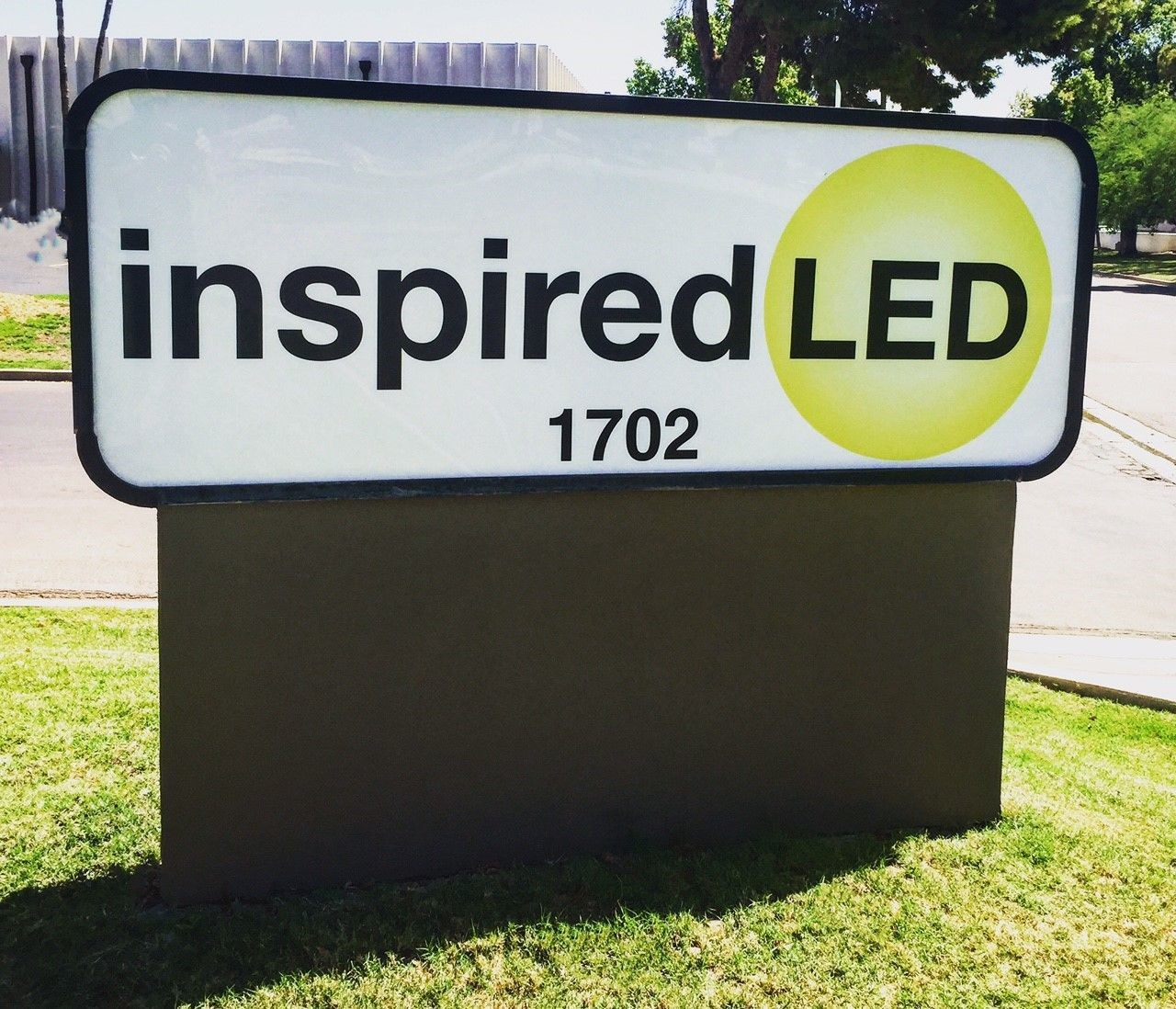 Architectural monument signage Inspired LED