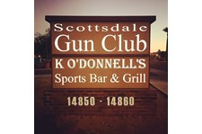 Monument Sign for the Scottsdale Gun Club in Scottsdale, AZ