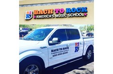 Custom Vehicle Graphics for Bach to Rock in Scottsdale AZ