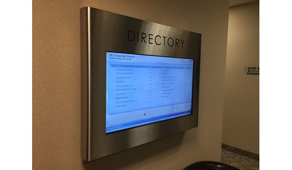 Digital Office Building Directory