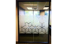 Etched Glass Vinyl Graphics for ClearTitle in Glendale, AZ