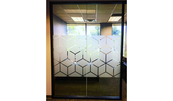 Etched Glass Vinyl Graphics