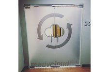 Etched Glass Vinyl Graphics for Ready Cloud in Arizona