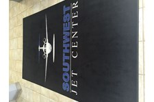 Custom Floor Mat for Southwest Jet Center in Scottsdale AZ