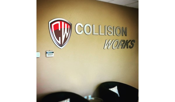 Custom Reception Sign - Routed Ultraboard