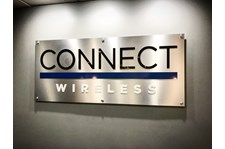 Architectural Reception Sign Connect Wireless