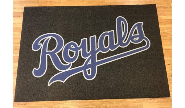 Custom Floor Mat for the Kansas City Royals