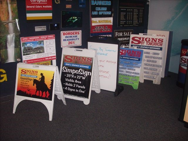 There are Many Options for Custom A-Frame Signs