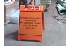 Custom Squarecade Sign for Centrury Link in Arizona