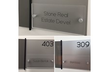 Custom Interior Sign Package for Housing Corp in San Francisco, CA