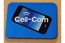 Interior Mall Sign For Cell Com
