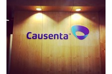 Reception Sign for Causenta in Scottsdale Arizona