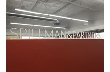 Interior Reception Sign for Spillman Partners in Scottsdale, AZ