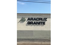 Building Sign for Arazruz Granite in Phoenix, Arizona