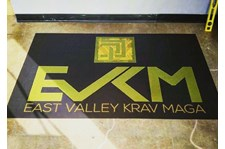 Custom Floor Graphic for East Valley Krav Maga in Tempe, AZ