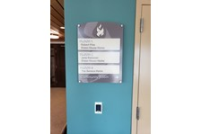 wayfinding sign for healthcare Rochester ny