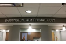 Interior Dimensional Sign for healthcare rochester ny