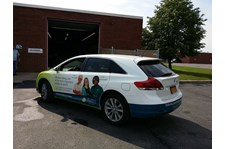 vehicle wrap for healthcare rochester ny