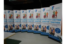 retractable banner for non-profit rochester ny