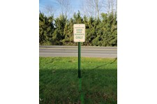 Parking Lot Sign For Property Management rochester ny
