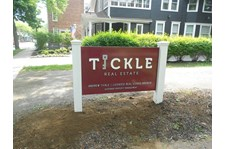 Post and Panel Sign for Real Estate rochester ny