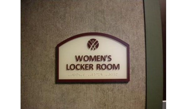 Locker Room Signs Rochester NY