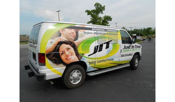 Full vehicle wrap Rochester NY