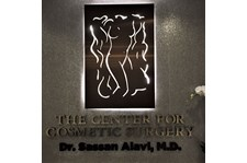 Customized Dimensional Lobby Sign for The Center for Cosmetic Surgery in San Diego, Ca