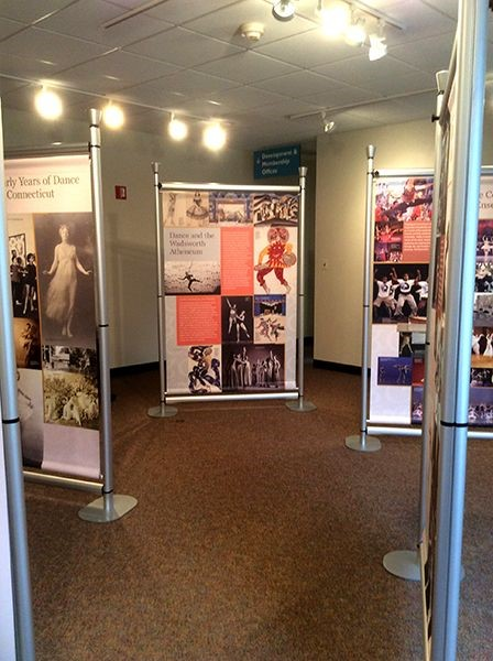 Custom display exhibit for CT Dance Alliance in Hartford, CT