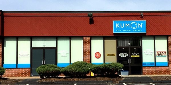 Window graphics for Kumon in Newington, CT.